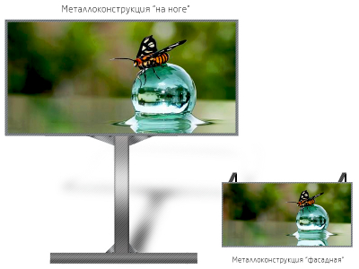Светодиодный экран 6*4м - обзор от 13м
