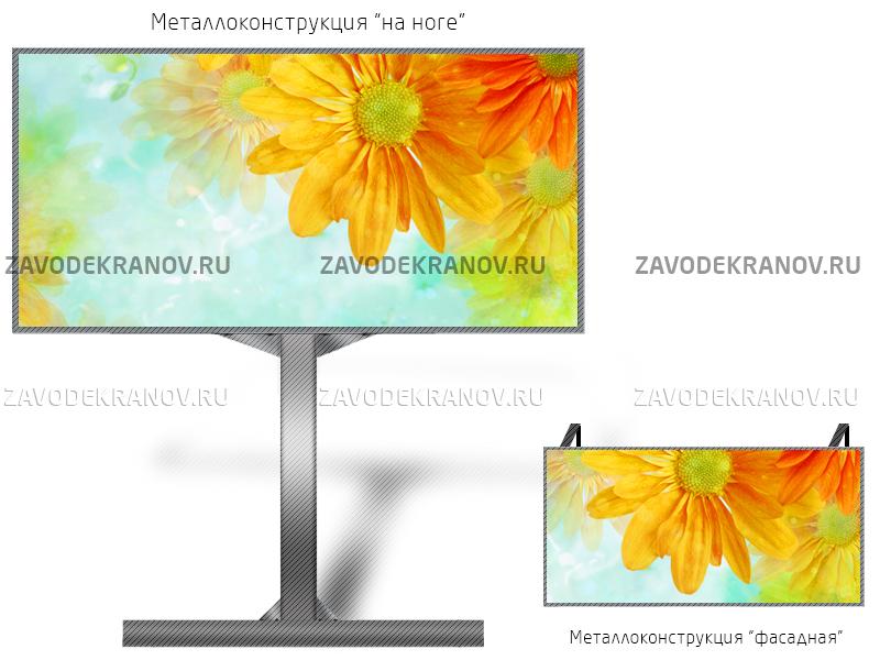 Светодиодный экран 12*6м - обзор от 10м