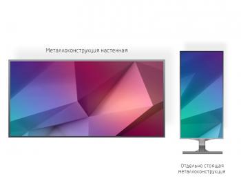 Светодиодный экран 2*1м - обзор от 4м
