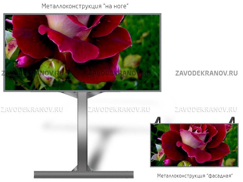 Светодиодный экран 6*4м - обзор от 10м