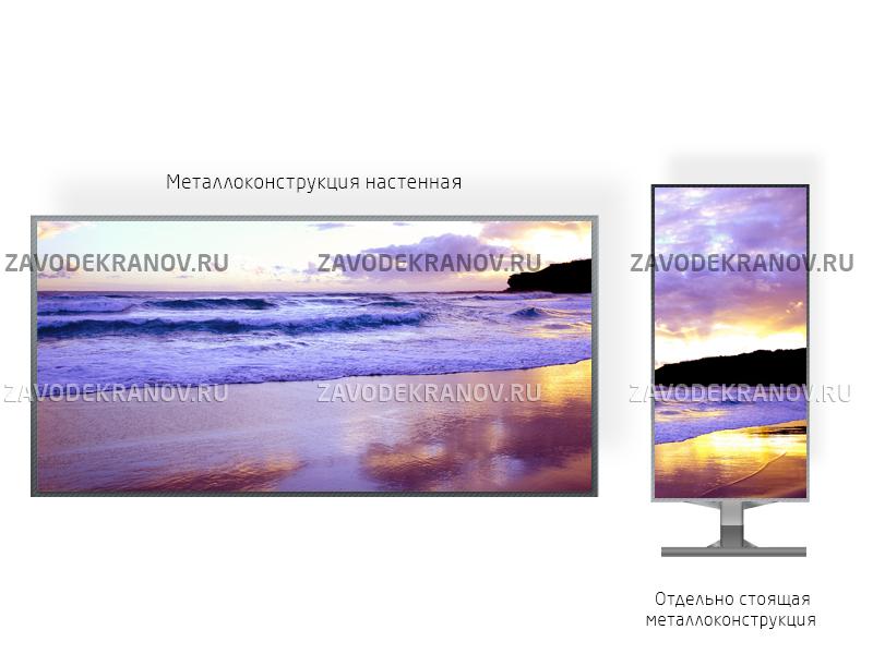 Светодиодный экран 2*2м - обзор от 6м