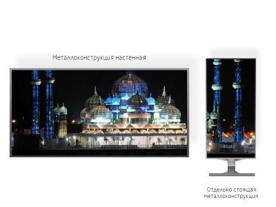 Светодиодный экран 1*1м - обзор от 6м