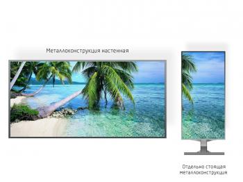 Рекламный экран 1*1м - обзор от 3м