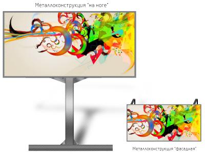 Видео экран 6*3м - обзор от 16м