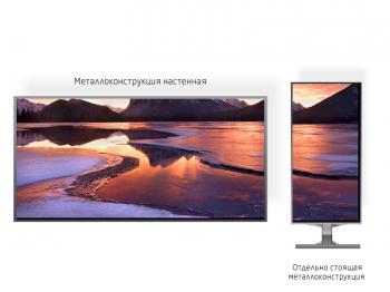 Видеоэкран 2*1м - обзор от 5м