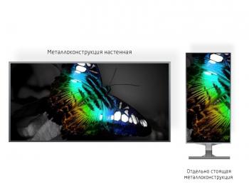 Видеоэкран 1*1м - обзор от 5м
