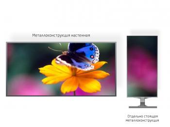 Видео экран 2*2м - обзор от 1м