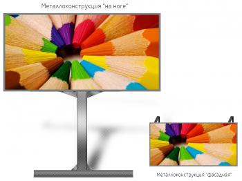 Монитор рекламный 12*6м - обзор от 20м