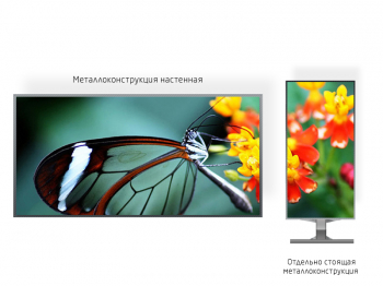 Видео экран 2*1м - обзор от 1м