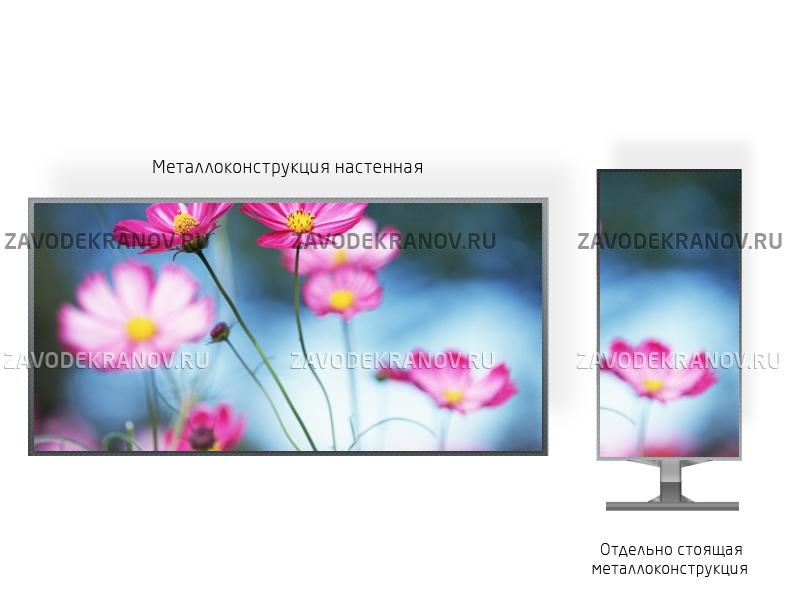 Видео экран 1*1м - обзор от 1м