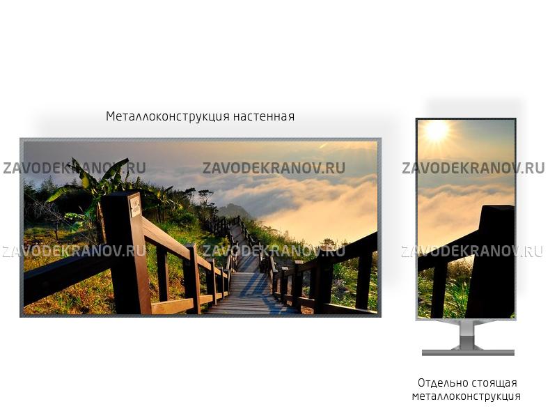 Монитор рекламный 1*2м - обзор от 8м
