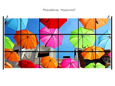 Медиафасад Dip P25