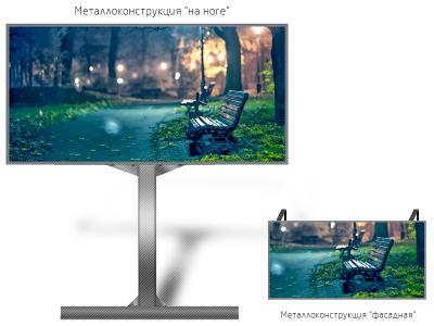 Led экран 4*3м - обзор от 13м