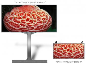 Монитор рекламный 6*4м - обзор от 16м