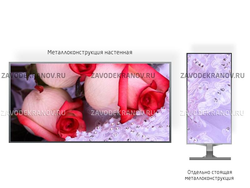 Монитор рекламный 1*3м - обзор от 10м