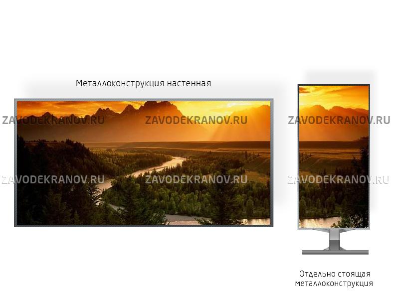 Монитор рекламный 3*2м - обзор от 10м