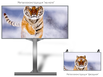 Табло 3*1м - обзор от 10м