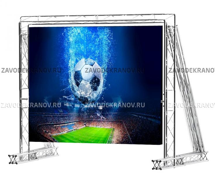 Легкоразборный светодиодный спортивный экран