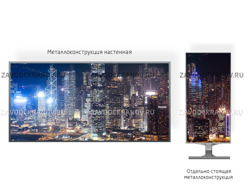 DIP Р10 экран 1,5 х 3 м