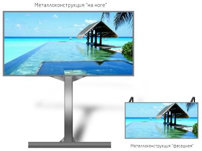 SMD экран P6 кв.м