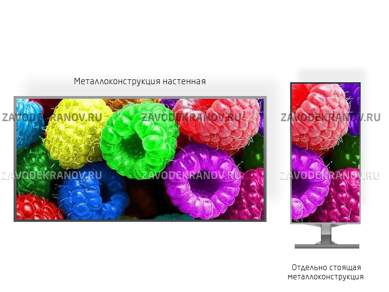 SMD экран P2