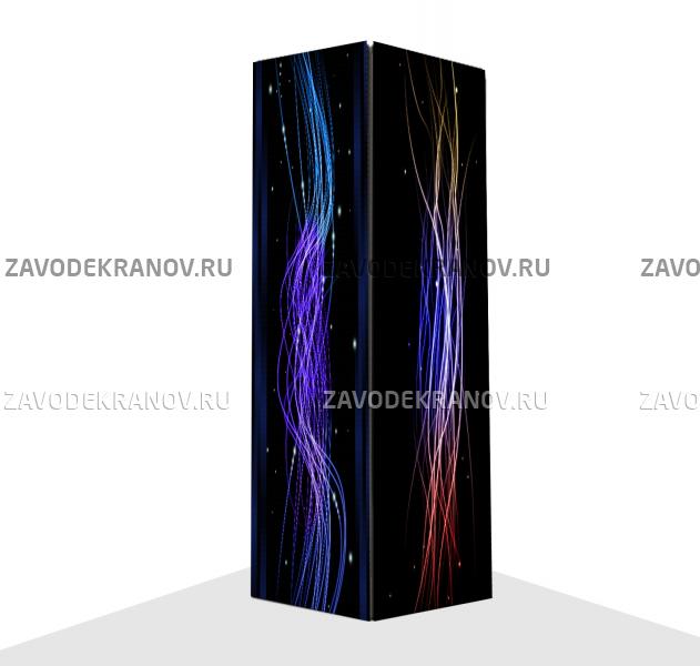 Светодиодный вертикальный экран