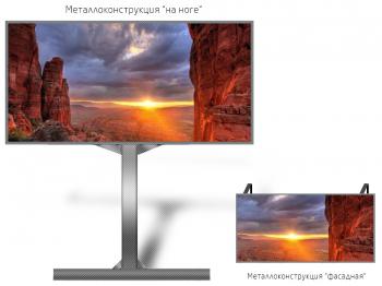 Уличный экран 5,5*3м