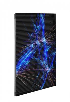 Вертикальный прозрачный экран