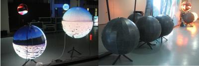 Светодиодный шар - D 1м - обзор от 10м
