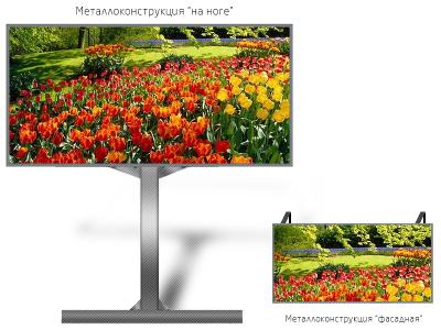 Led экран 2*2м - обзор от 10м