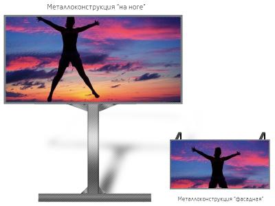 Led экран 1*1м - обзор от 10м