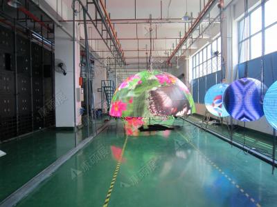 Светодиодный шар - D 2м - обзор от 6м